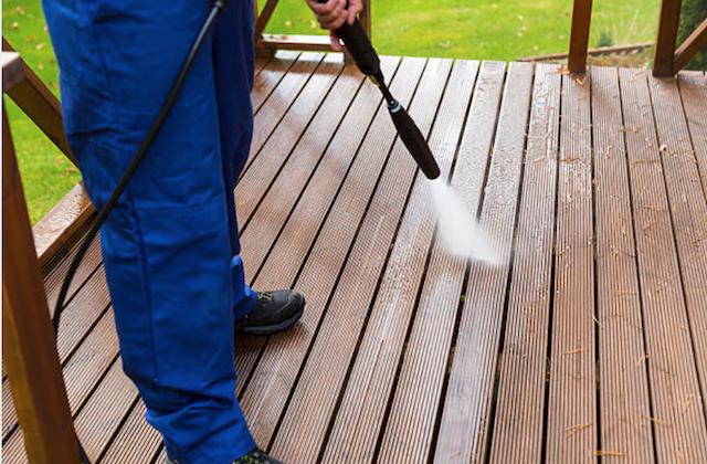 deck cleaning folsom