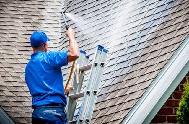 folsom roof cleaning