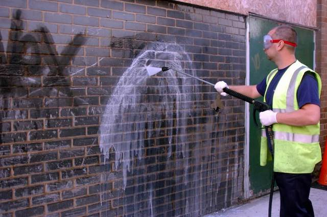 graffiti removal in folsom