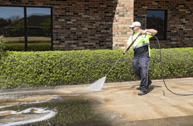 commercial concrete cleaning in folsom